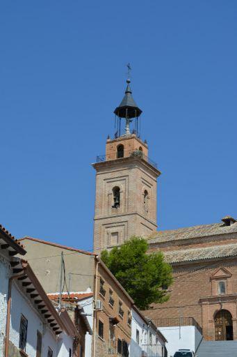 Iglesia parroquial de San Cipriano, torre