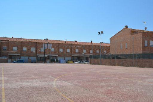 Instalaciones deportivas, pista de baloncesto