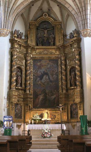 Iglesia parroquial de Nuestra Señora de la Asunción, interior