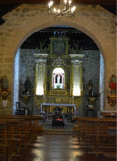 Ermita Ntra. Sra. del Remedio, interior