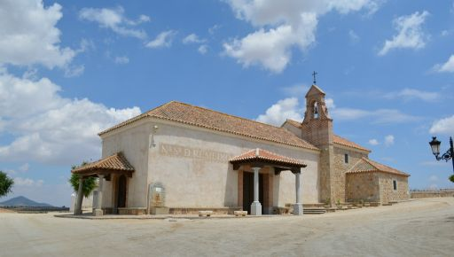 Ermita del Remedio, exterior