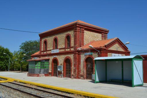 Estación del ferrocarril, arquitectura original