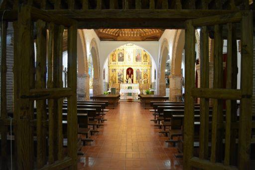 Iglesia parroquial de la Asunción de Nuestra Señora, interior vista