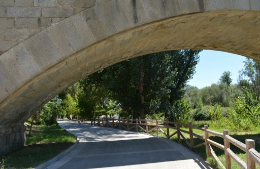 Paseo junto al Río Alberche