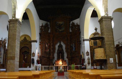 Iglesia Parroquial de Santa Maria Magdalena, interior