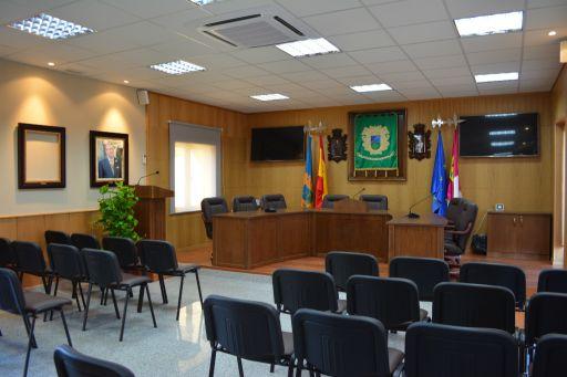 Ayuntamiento, salón de plenos