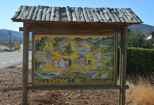 Cartel del municipio de cerámica