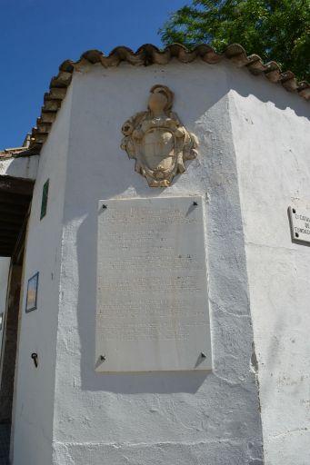 Casa Museo Cervantes, Escudo