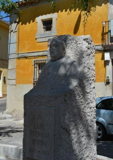 Monumento a Luis Astrana Marín