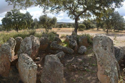 Dolmen de La Estrella Andigüela (a)