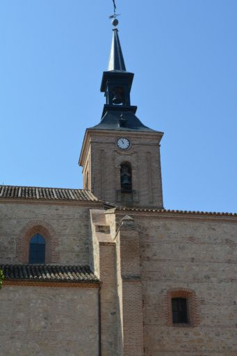 Iglesia parroquial de San Juan Bautista, torre