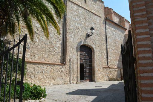 Iglesia parroquial de San Juan Bautista, entrada