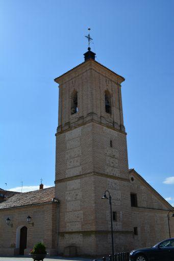 Iglesia de San Mateo Apóstol, torre