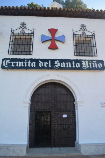 Ermita del Santo Niño, exterior detalle