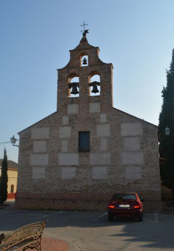 Iglesia de San Sebastián, exterior