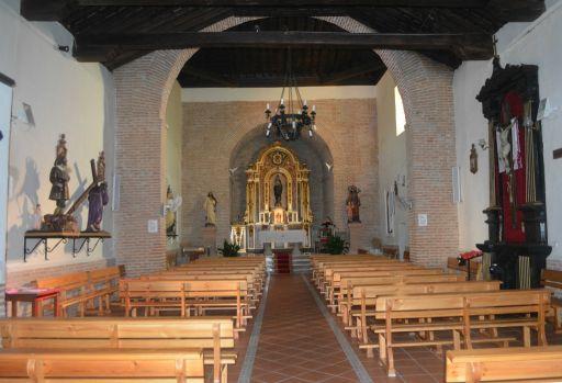Iglesia de San Sebastián, interior