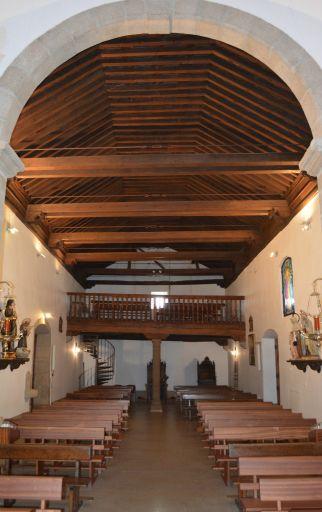 Iglesia parroquial de San Ildefonso, coro