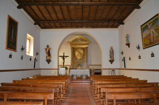 Iglesia de San Andrés Apóstol, interior