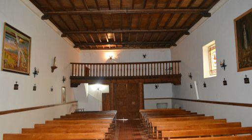 Iglesia de San Andrés Apóstol, interior coro