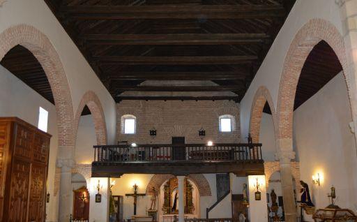 Iglesia parroquial de San Bartolomé, interior coro