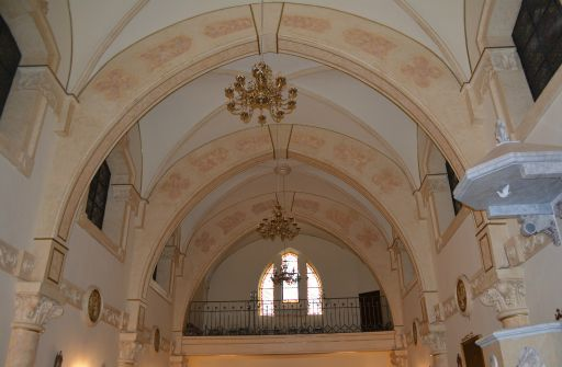 Ermita de Nuestra Señora del Rosario de los Pastores, coro