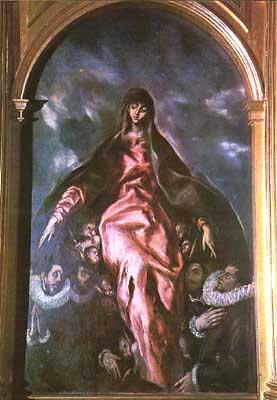 Iglesia de Nuestra Señora de la Caridad, cuadro del Greco