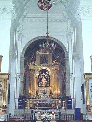 Iglesia de Nuestra Señora de la Caridad, interior