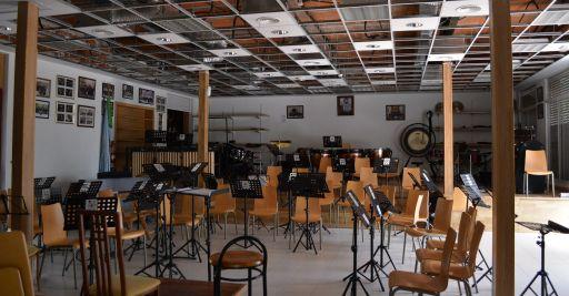 Casa de la Cultura, Sala de ensayo de la Banda