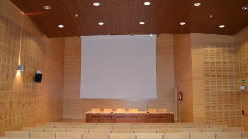 Biblioteca, Sala de Conferencias