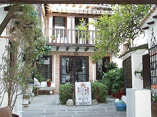 Casa típica, patio