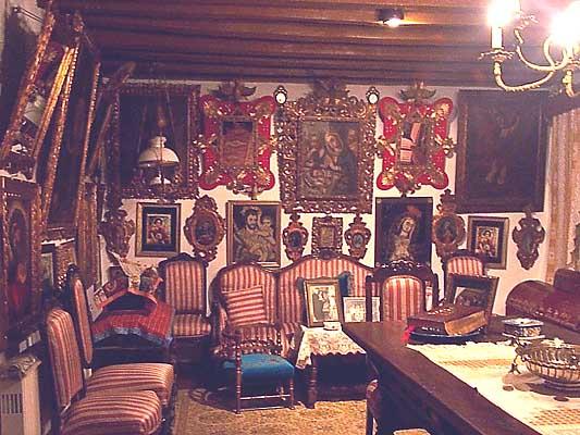 Casa típica, sala