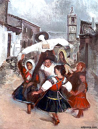 Escenas típicas, Museo Marcial Moreno Pascual (b)