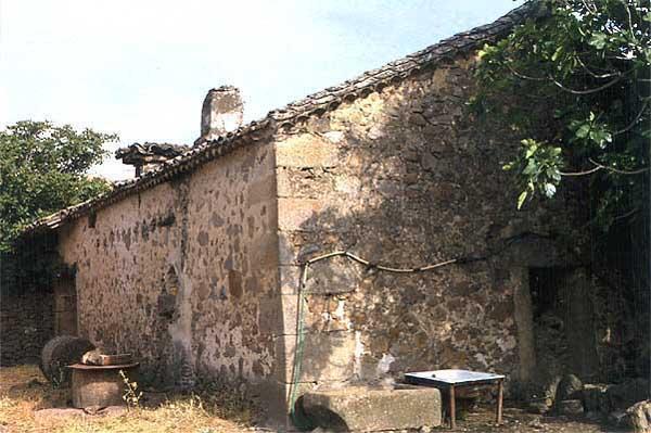 Lagar de Don Ramón Moreno, exterior
