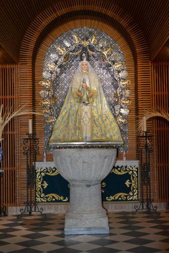 Iglesia parroquial de Santa María Magdalena, capilla del Rosario