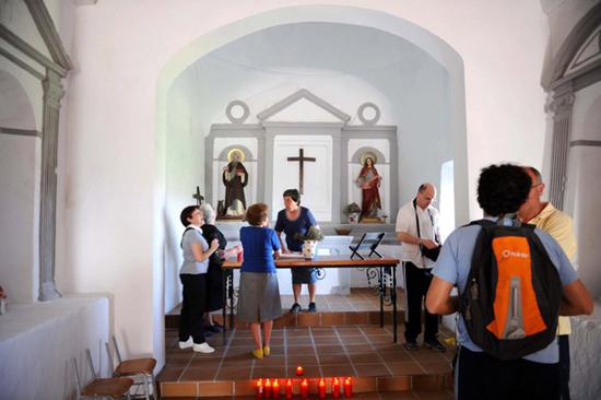 Ermita de Santa Lucía y San Antón, interior