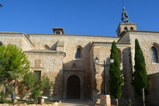 Iglesia Parroquial San Martín Obispo de Lillo, exterior