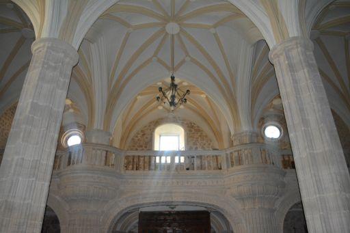 Iglesia Parroquial San Martín Obispo de Lillo, interior coro