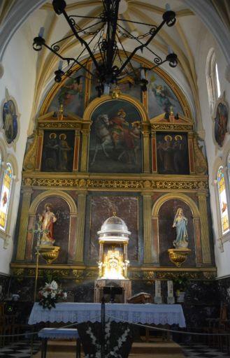 Iglesia Parroquial San Martín Obispo de Lillo, altar