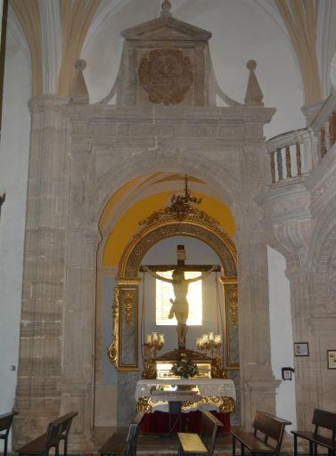 Iglesia Parroquial San Martín Obispo de Lillo, capilla Cristo de las Injurias