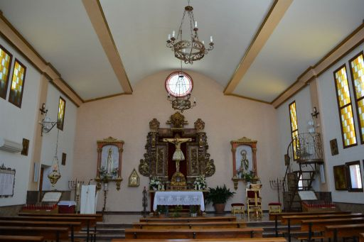 Ermita del Santísimo Cristo de la Veracruz, interior