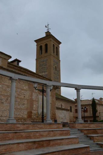 Iglesia parroquial de Santa Marina, torre
