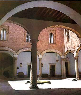Castillo, patio