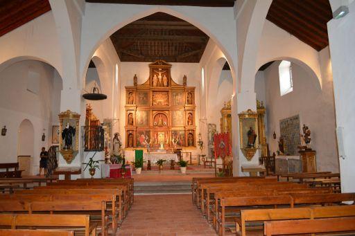 Iglesia Parroquial Sta María de los Alcázares, interior