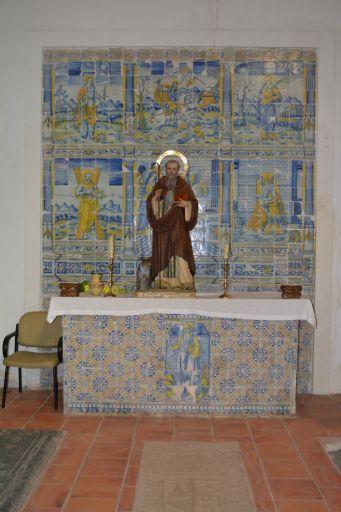 Iglesia parroquial, azulejos Talaveranos S. XVI. Cerámica Renacentista