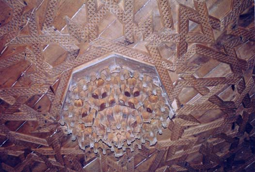 Iglesia parroquial, carpintería arte mudéjar S. XVI