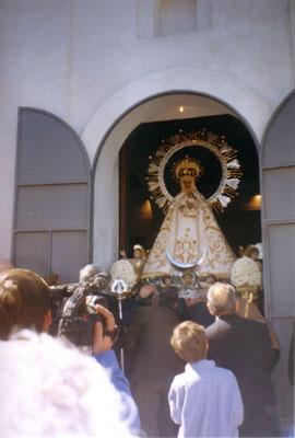 Salida procesión Virgen de los Dados