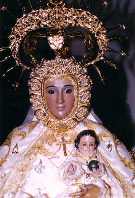 Virgen de los Dados, Patrona de Maqueda