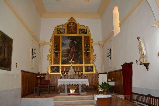 Iglesia San Juan Bautista, interior