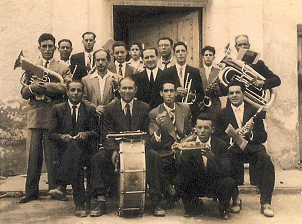 Banda de música (Archivo histórico)