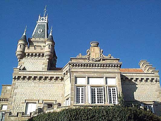 Entorno paisajístico, finca de El Castañar, palacio balcón